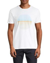 Vestige Men's Beach Graphic T-shirt - Black - Size Xxl