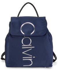 Calvin Klein Mallory Nylon Backpack - Black