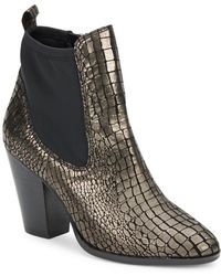 Donald J Pliner - Senor Heeled Ankle Boot - Lyst