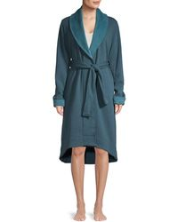 UGG Duffield Fleece Robe - Blue