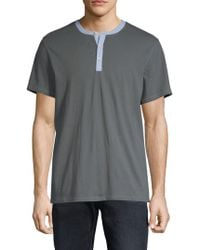 Threads For Thought - Wynn Cotton Henley - Lyst