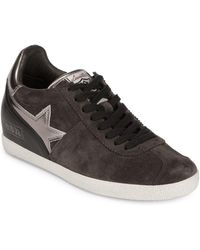 Ash - Guepard Leather Sneakers - Lyst