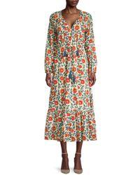 Roberta Roller Rabbit Women's Rosetone Olaya Dress - Beige - Size M - Natural