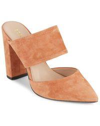 BCBGeneration - Houston Leather Almond-toe Shoes - Lyst
