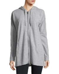 Nanette Lepore | Zip-front Hooded Tunic | Lyst