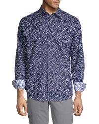 Robert Graham - Printed Button-down Shirt - Lyst