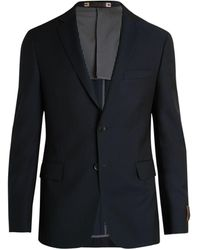 Hickey Freeman Perry Wool Sportcoat - Blue