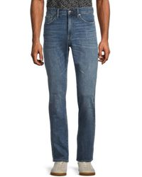 Madewell Hutchins Straight Jeans - Blue