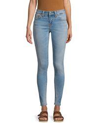True Religion Jennie Curvy Mid-rise Skinny Jeans - Blue