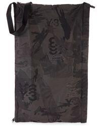 Yohji Yamamoto Men's Printed Shopper Bag - Black