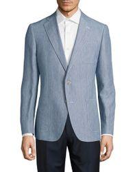 Robert Graham - Modern Fit Linen-blend Sportcoat - Lyst