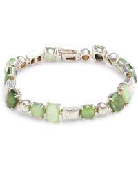 Ippolita - Sterling Silver, Clear Quartz & Mother-of-pearl Bracelet - Lyst