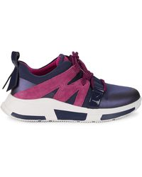Fitflop Carita Lace-up Trainers - Blue
