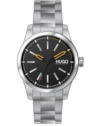 BOSS by HUGO BOSS Invent Stainless Steel Bracelet Watch - Black