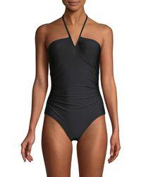 Calvin Klein - V-wire One-piece Swimsuit - Lyst