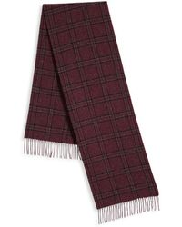 Saks Fifth Avenue - Donegal Plaid Scarf - Lyst