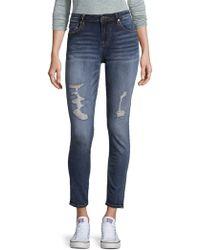 Vigoss - Distressed Skinny Jeans - Lyst
