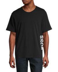 BOSS by HUGO BOSS Identity Logo Stretch T-shirt - Black