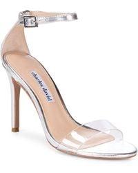 Charles David - Cristal Classic Stiletto Heel Sandals - Lyst
