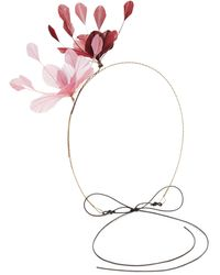 Valentino Garavani Feather Hairband - Pink