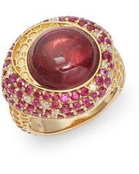 Effy 14k Yellow Gold & Multi-stone Ring - Multicolour