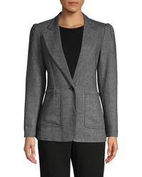 Rebecca Minkoff Wool-blend Blazer - Gray