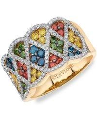 Le Vian Exotics® 14k Honey Goldtm & Multi-stone Ring - Multicolor