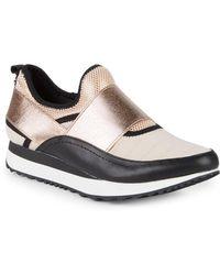 0f9301e2c46 Steve Madden - Haro Colorblock Slip-on Sneakers - Lyst