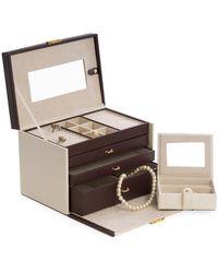 Bey-berk - 4-level Leather Jewelry Box - Lyst