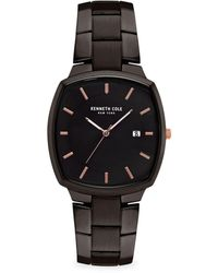 Kenneth Cole - Classic Stainless Steel Bracelet Watch - Lyst