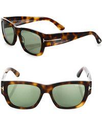 Tom Ford - Stephen 54mm Soft Square Sunglasses - Lyst