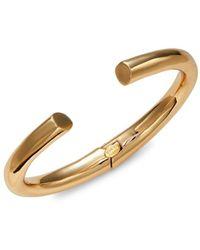 Kenneth Jay Lane Women's 14k Goldplated Cuff Bracelet - Metallic