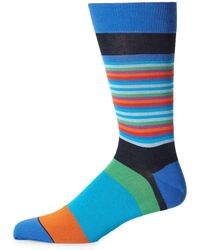 Bugatchi - Multicolored Socks - Lyst