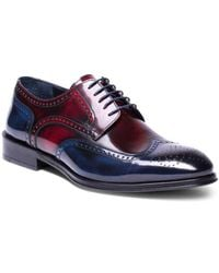 Jared Lang - Marco Collection Hand-made Leather Brogues - Lyst
