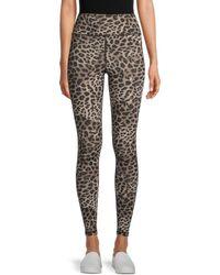 Spiritual Gangster Cheetah-print Leggings - Black