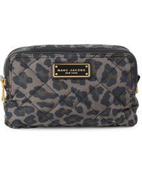 Marc Jacobs Quilted Double Zip Cosmetic Case - Multicolour