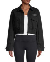 Alala Apex Cropped Jacket - Black