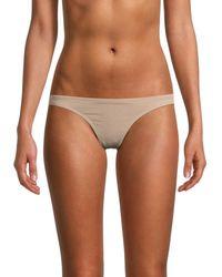 Free People Textured Bikini Bottom - Multicolour