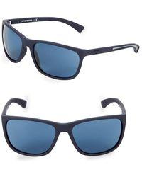 Emporio Armani - Ea4078 62mm Square Sunglasses - Lyst