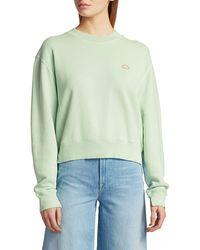 FRAME Easy Organic Cotton Sweatshirt - Green