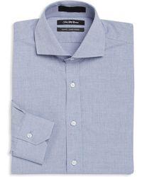 Saks Fifth Avenue - Slim-fit Woven Cotton Dress Shirt - Lyst