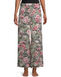 Fleur du Mal Printed Wide-leg Trousers - Multicolour