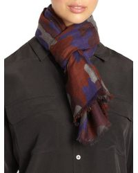 Christopher Kane - Camo Cashmere Scarf - Lyst