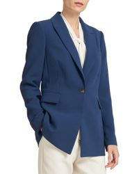 Donna Karan - One-button Long Jacket - Lyst