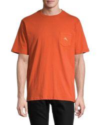 Tommy Bahama Men's Dr. Fill Graphic T-shirt - Orange - Size M