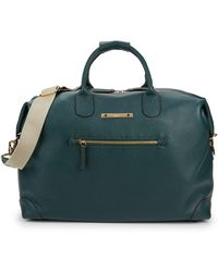 "Bric's Leather 18"" Duffle - Green"
