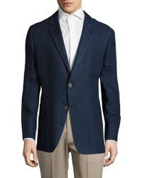 Hickey Freeman - Sterling Linen-blend Jacket - Lyst