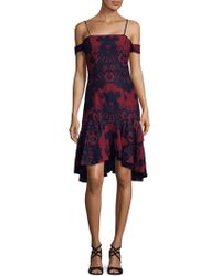 Alexia Admor - Lace Dress - Lyst