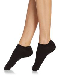 Hue - No-show Lined Socks - Lyst