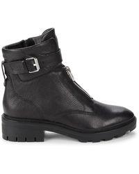 Dolce Vita Lurra Leather Boots - Black